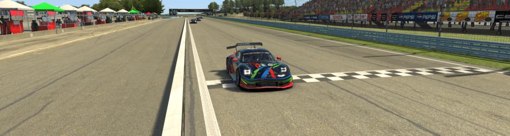 Livré Porsche LTGP esports