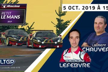 Le Petit Le Mans iRacing