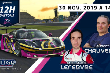 Participation 12h Daytona 24h for Anna LTGP