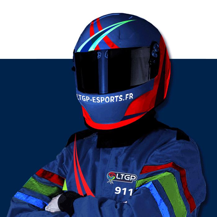 Pilote LTGP eSports Francesco Frigerio