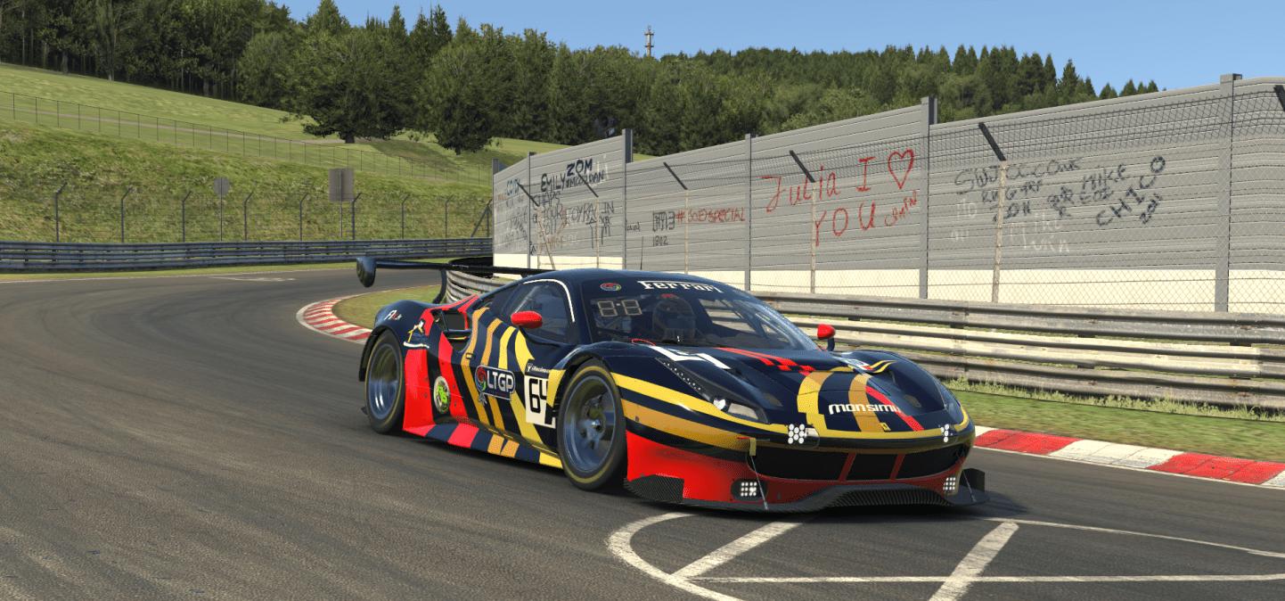 Ferrari GT3 Nordshleife