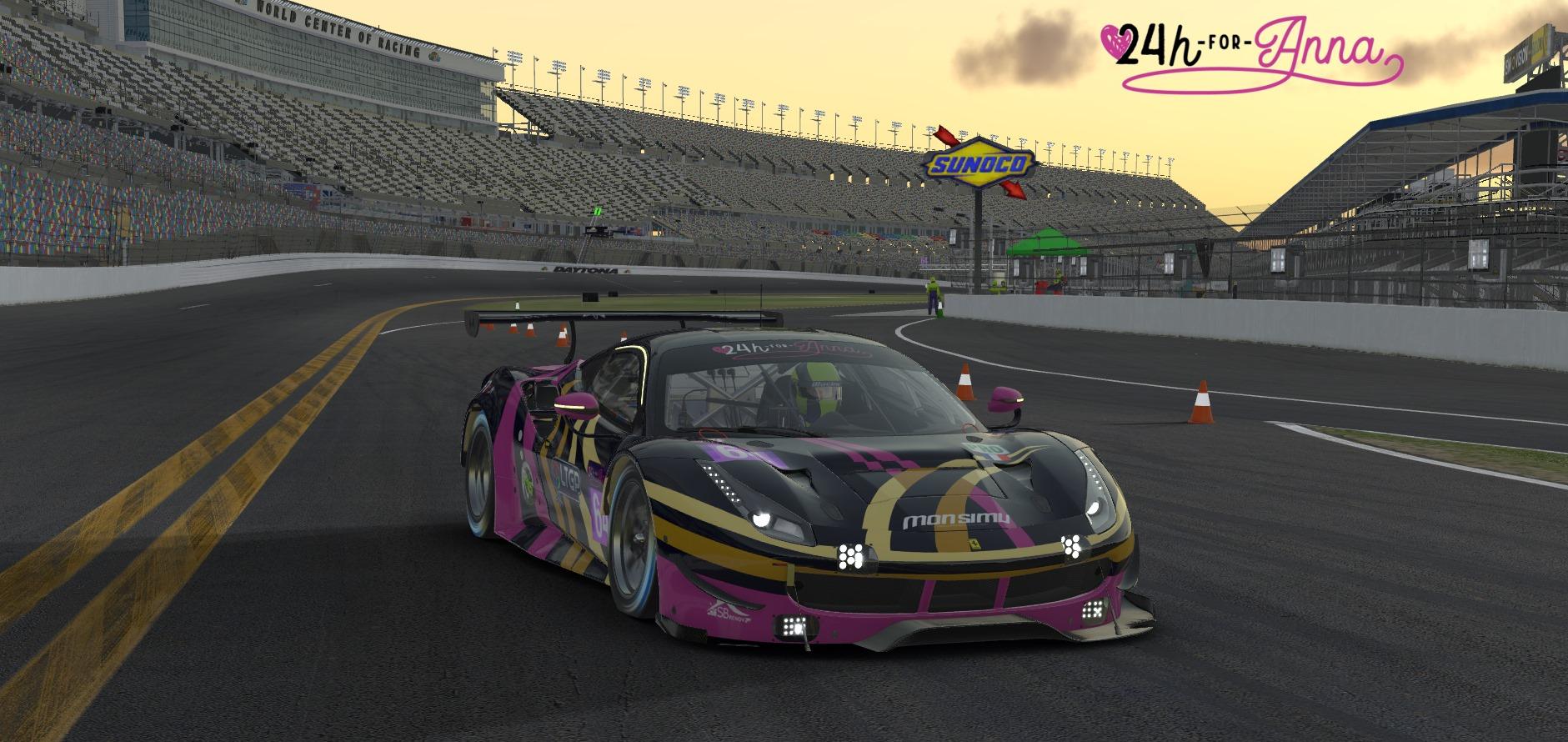 Ferrari GTE 24h For Anna