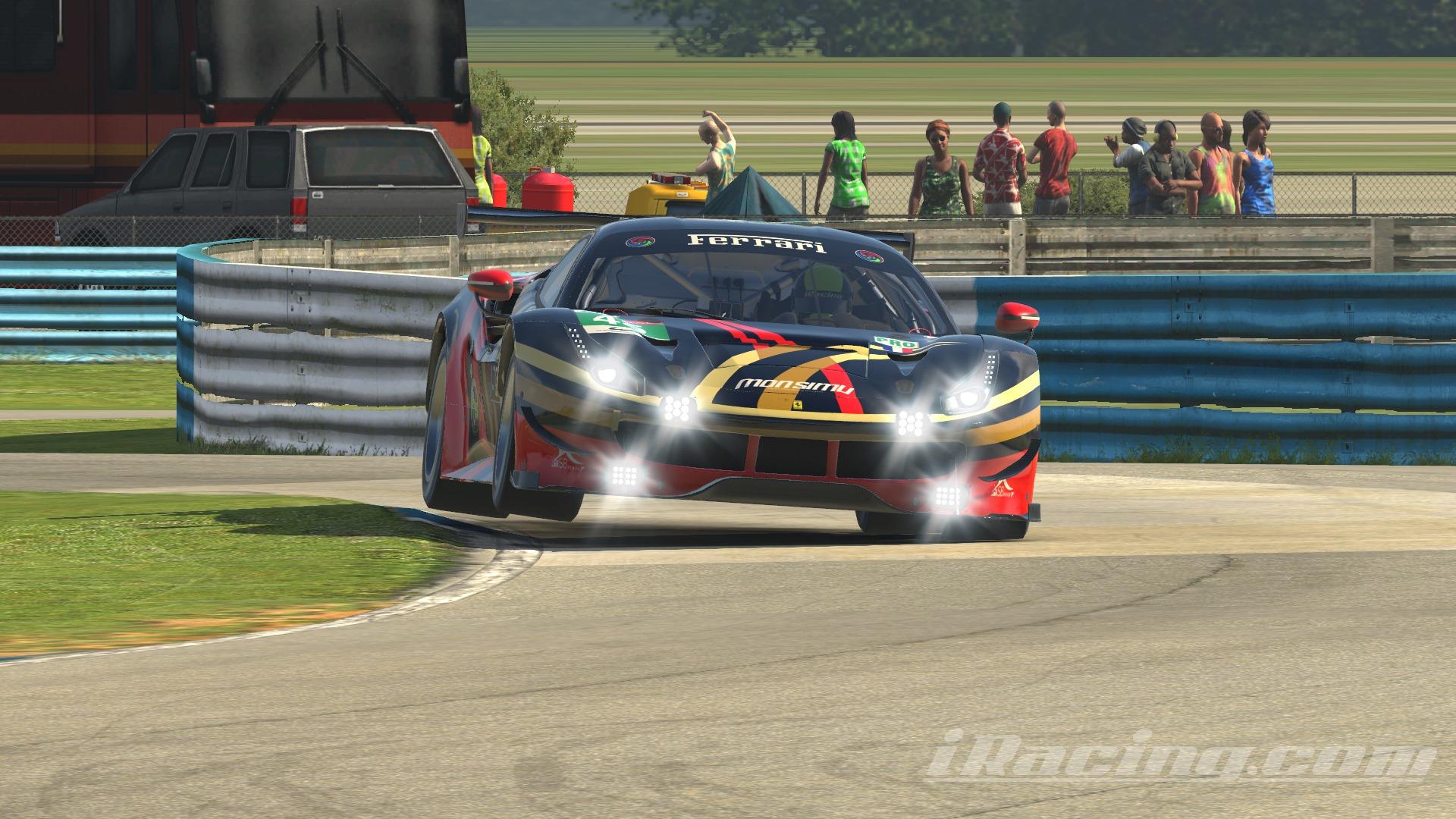 Ferrari GTE Gold