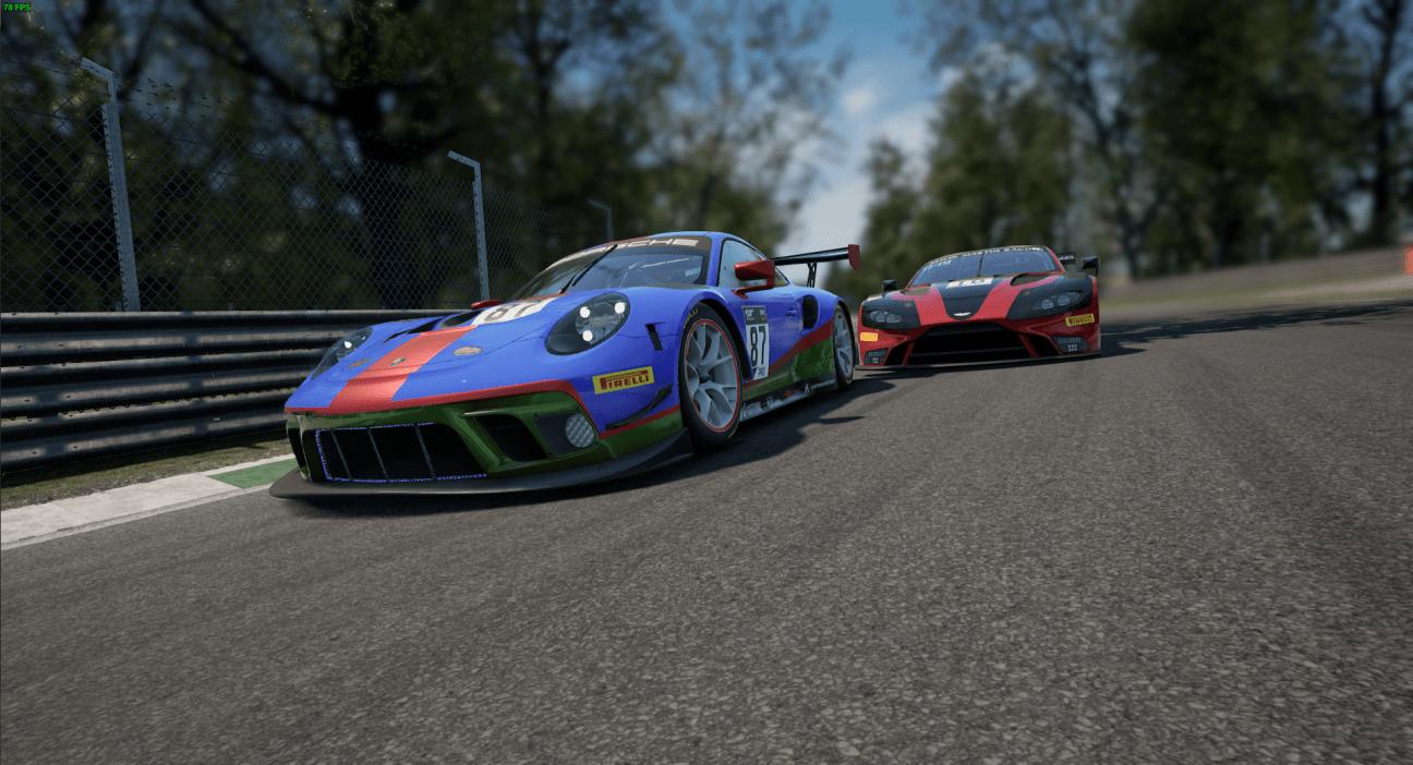 Porsche 911 ACC