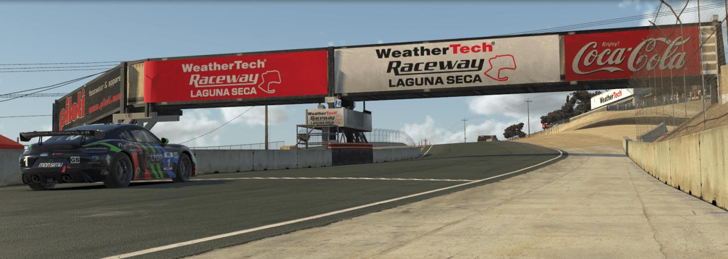 Porsche GT4 - Laguna Seca