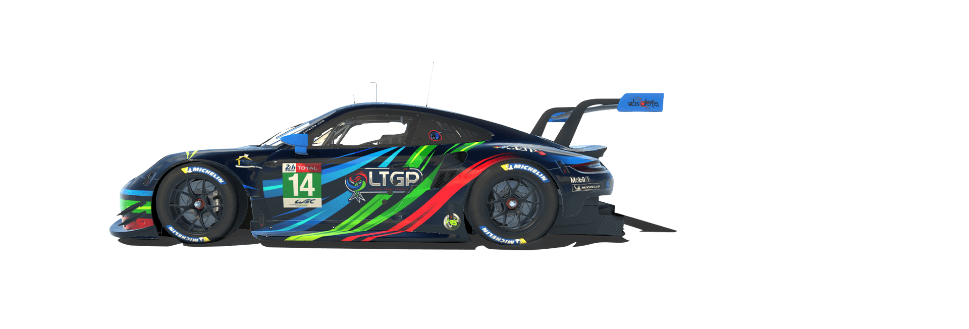 LTGP eSports Porsche