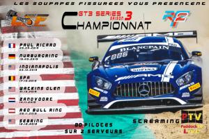 Championnat GT3 Series LSF