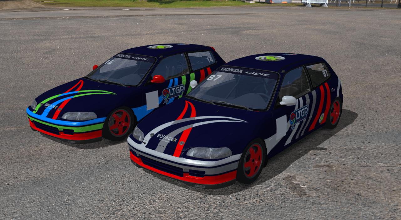 Livré Honda LTGP esports et Junior Team