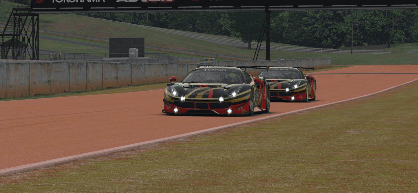 Ferrari 488 GTE LTGP Gold