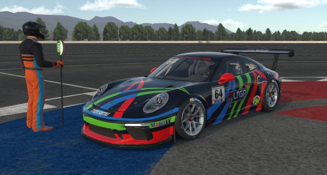 Livrée Porsche 911 Cup