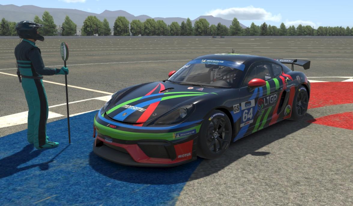 Livrée Porsche GT4